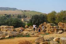 Excursion for students. Here in Agrigento. Fot. Belicki K.