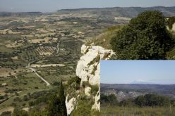 Excellent view from the ancient town over the surrounding territory (fot. Bogacki M., Kaniszewski J.)